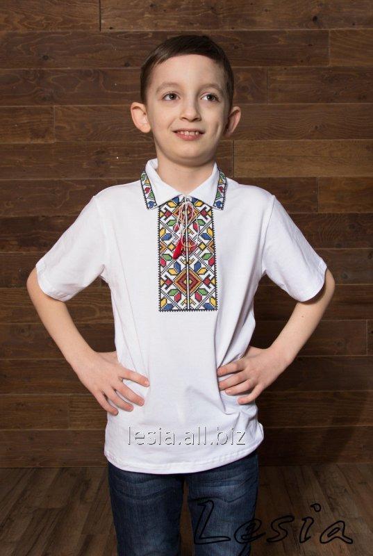 Вишиванка на хлопчика подільська кольорова код 5212173
