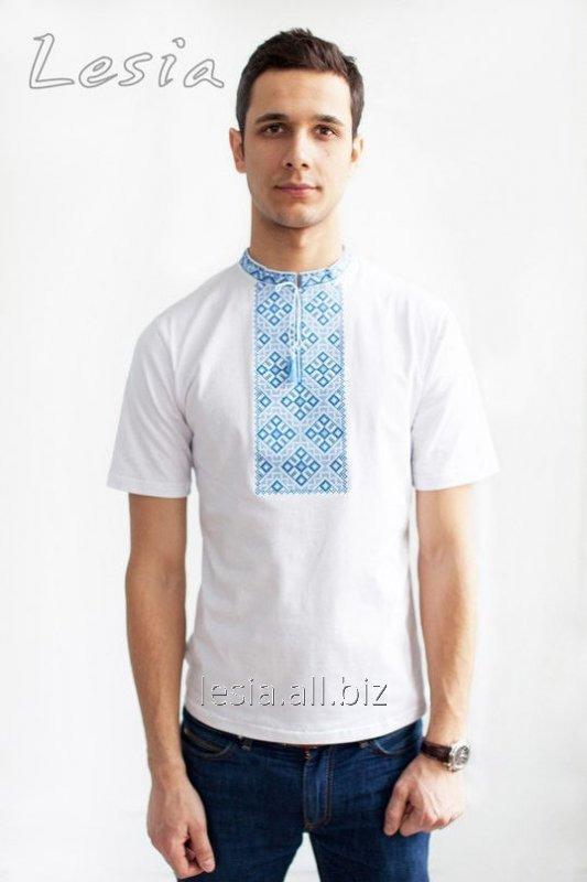 Чоловіча вишиванка Козацька синя код 4212125 купить в Львове 8998a973e449b