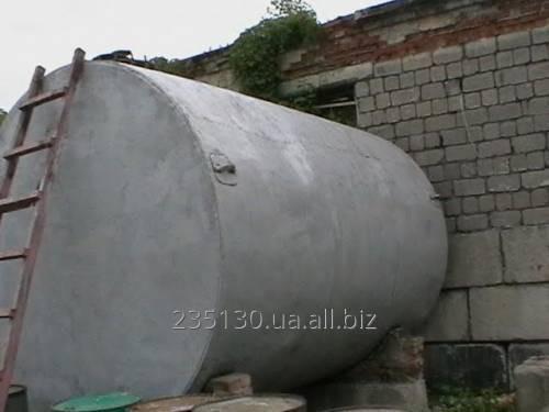 Емкость металлическая, объём 25 м³