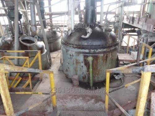 Реактор нержавеющий, объёмом 4 м³