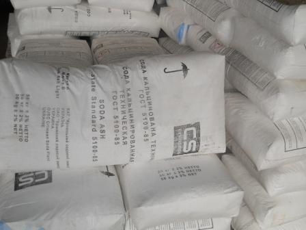 Сода кальцинированная (карбонат кальция) Украина, Россия, Польша