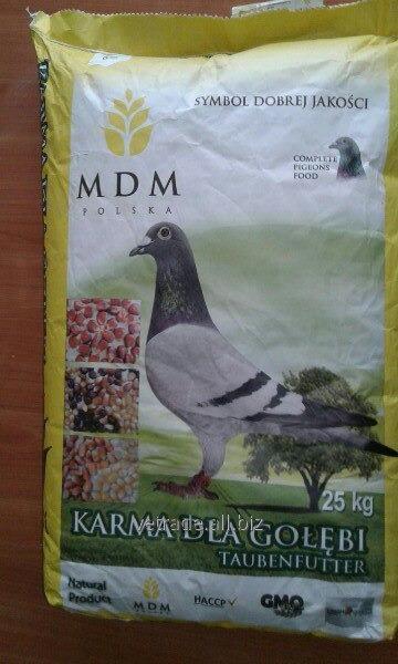 Корм для голубів MDM BK ZW. (корм) 25кг