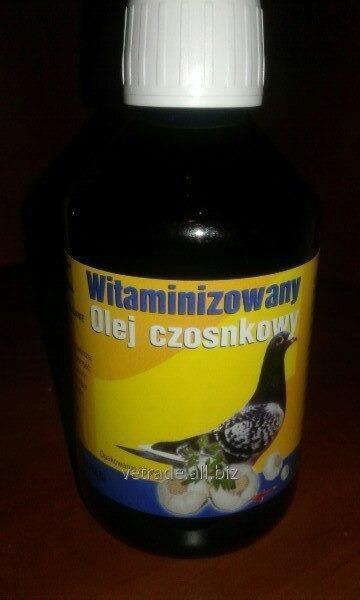 Олія часникова вітамінізована Olej Czosnkowe Witaminizowany 250мл