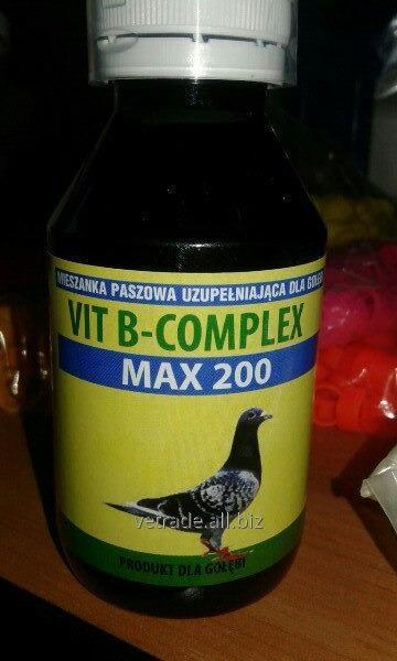 Препарат Vit B-complex Max 200, 100мл