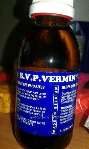 Препарат B.V.P.Vermin-X, 50/150мл