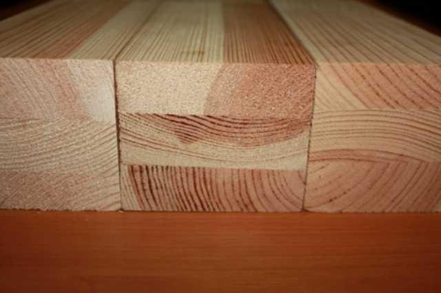 Брус 40х120 строганный деревянный - сосна