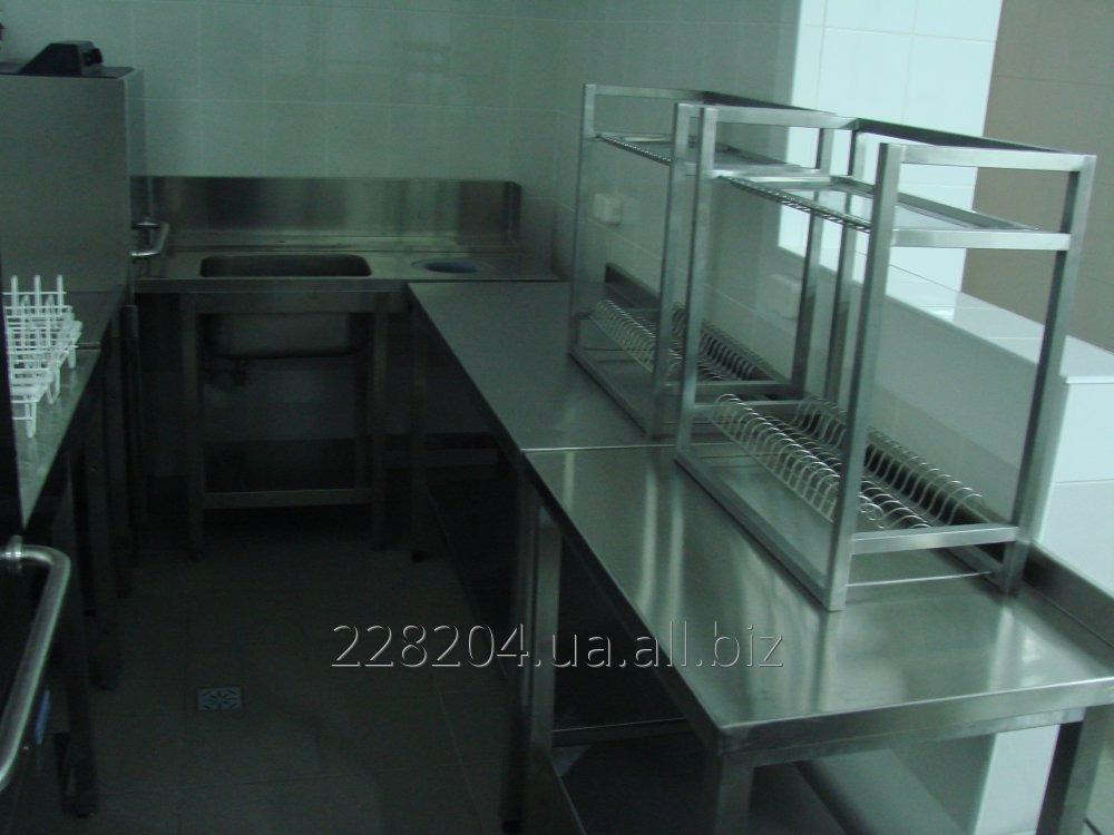 Drying for ware 2kh yar. cups + plates + pallet 1200х320х550