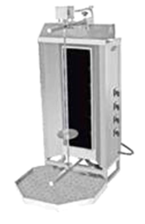 Shaurma electric Pimak M077-4S