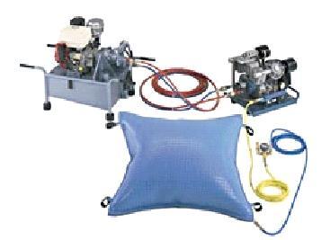 Купить Оборудование для подъема транспортных средств при помощи пневмоподушек