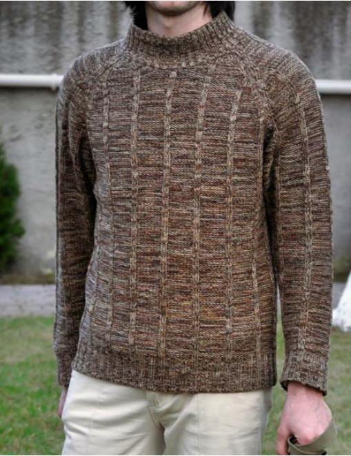 Чоловічий вязаний светр купити в Київ c322d5ebfe26d