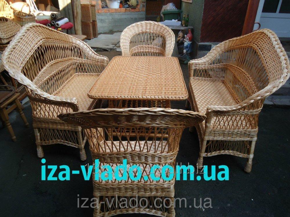 Купить Плетеная мебель из лозы- Набор Капля 5 код 251192958