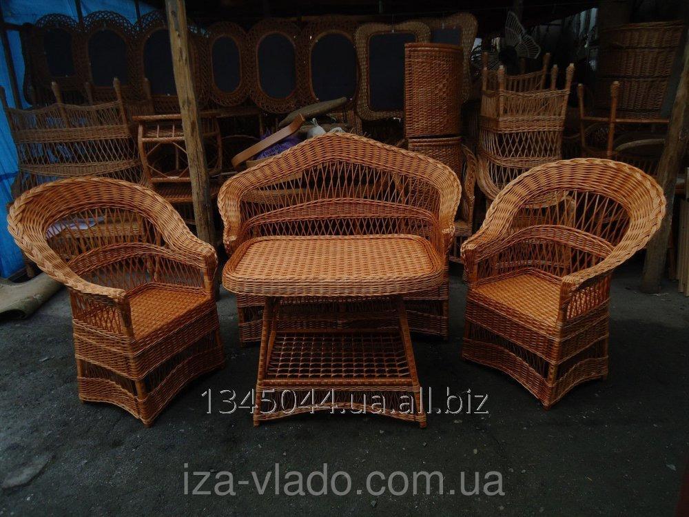 Купить Плетеная мебель из лозы- Набор Капля- Люкс код 75442735