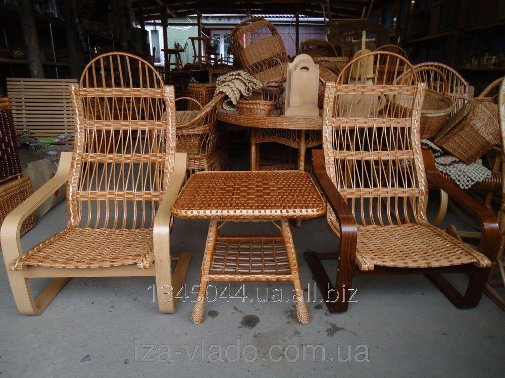 Купить Плетеная мебель из лозы- Набор Лягушки код 141544882