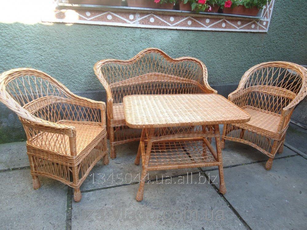 Купить Плетеная мебель из лозы- Набор Простой 2 код 46065259