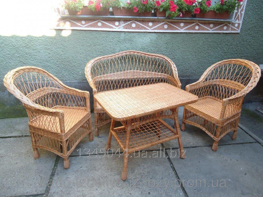 Купить Плетеная мебель из лозы- Набор Простый 1 код 40130251