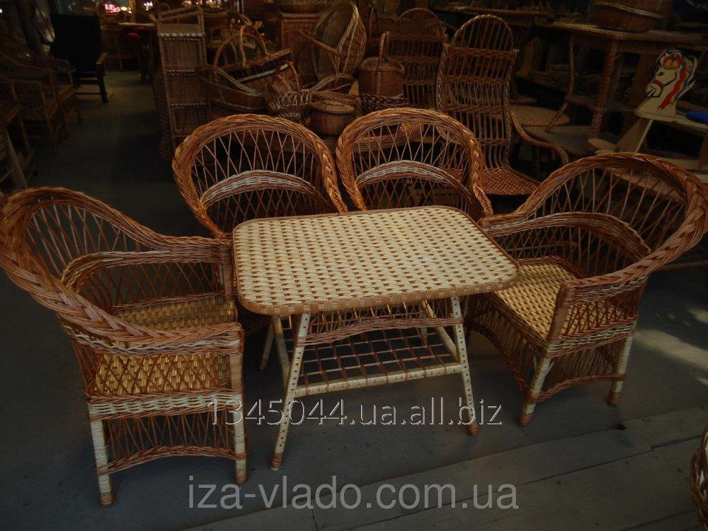 Купить Плетеная мебель из лозы- Набор Простый 1 код 124649476