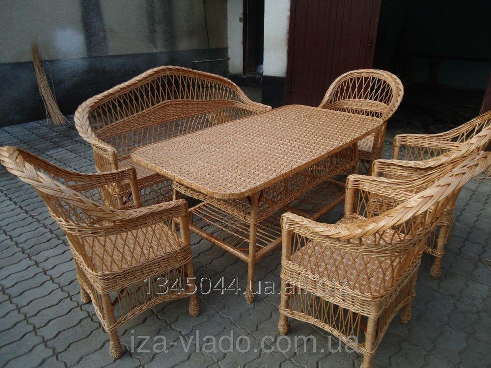Купить Плетеная мебель из лозы- Набор Простый 5 код 144540601