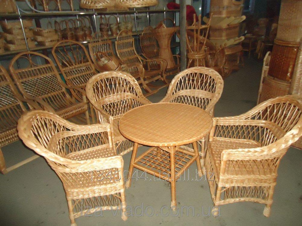 Купить Плетеная мебель из лозы- Набор Простый 6 код 74524601