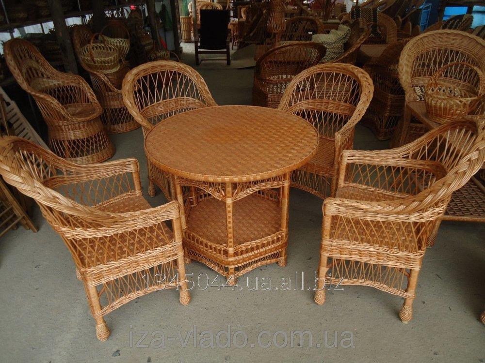 Купить Плетеная мебель из лозы- Набор Простый 8 код 96351803