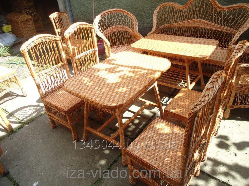 Купить Плетеная мебель из лозы- Набор Простый кухонный код 46059943
