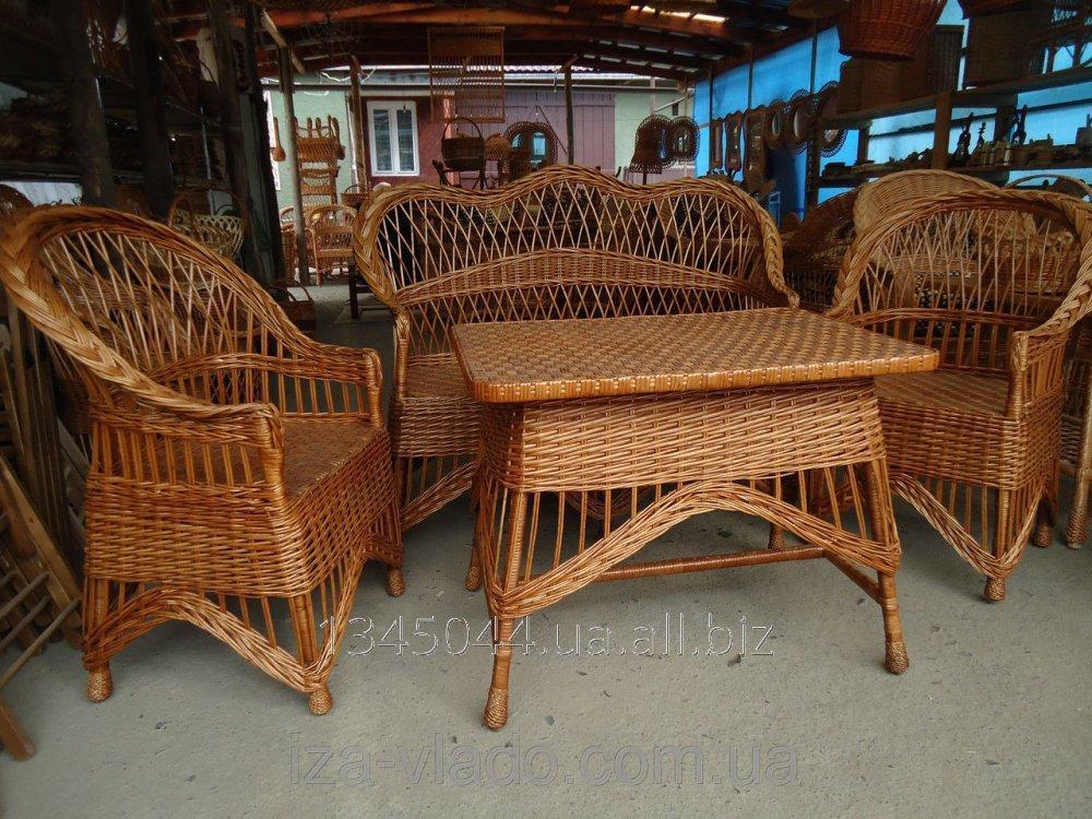 Купить Плетеная мебель из лозы- Набор Ретро код 96352239