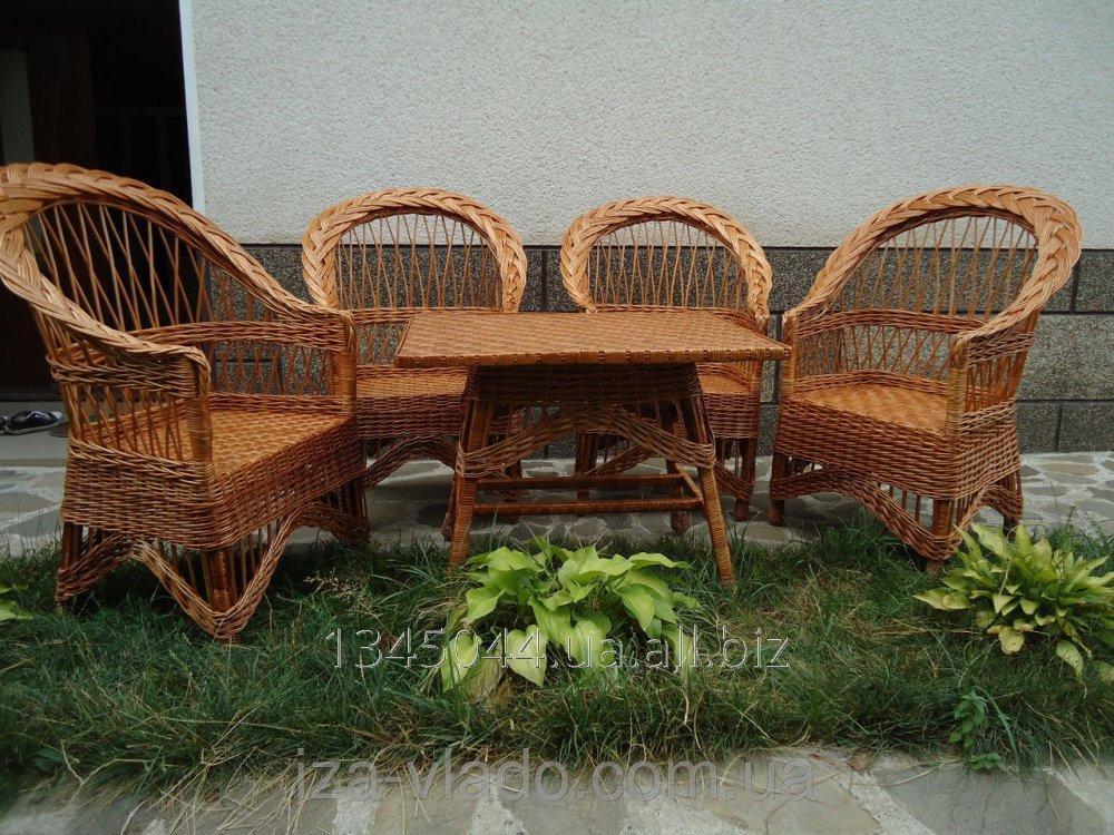 Купить Плетеная мебель из лозы- Набор Ретро код 138215833
