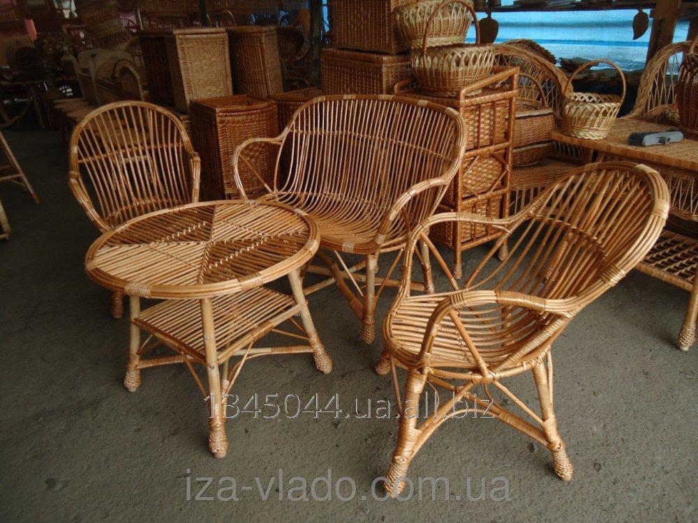 Купить Плетеная мебель из лозы- Набор Уют 2 код 75443876