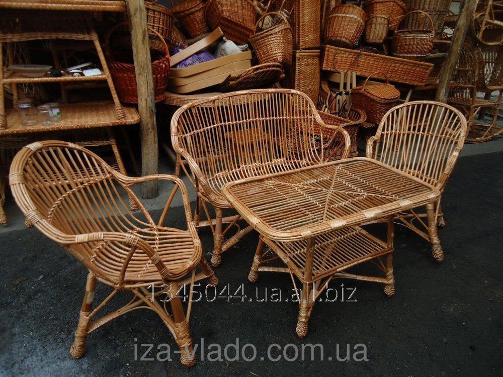 Купить Плетеная мебель из лозы- Набор Уют 3 код 78493389