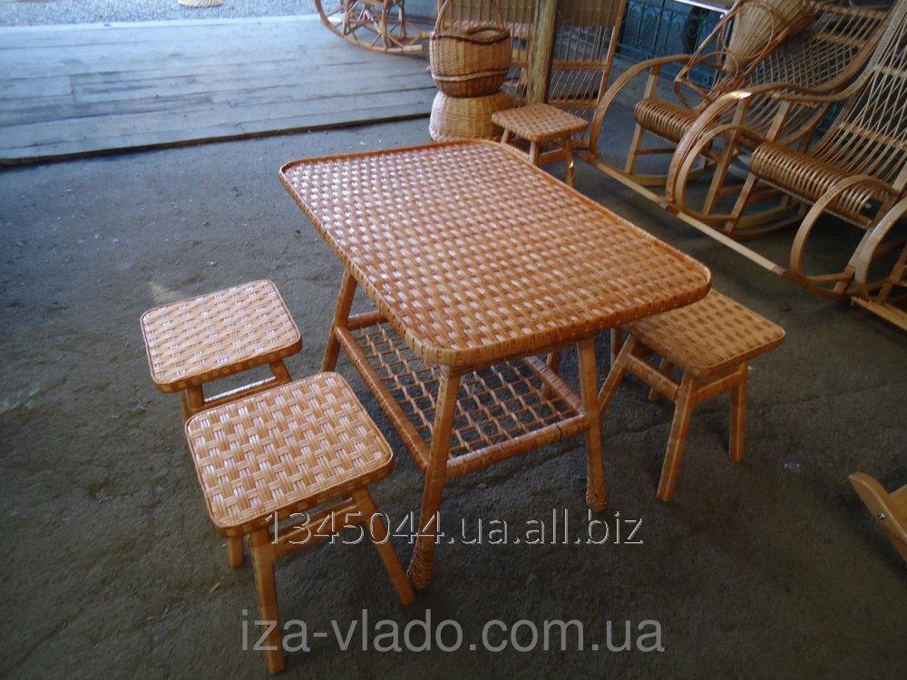 Купить Плетеная мебель из лозы- Набор кухонный 2 код 77917091