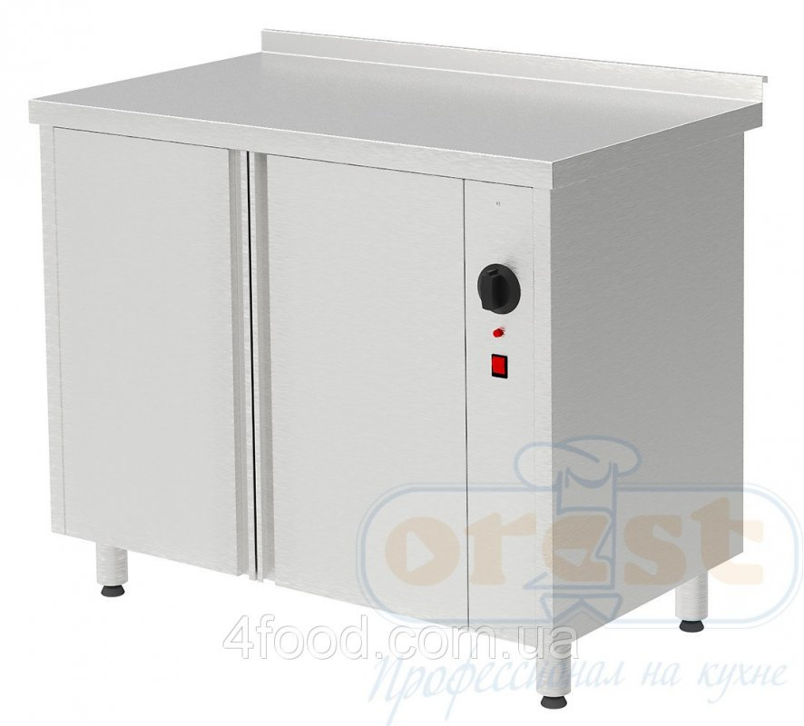 Стол для подогрева тарелок, двери купе Orest PTHC-2-0,6-1,5