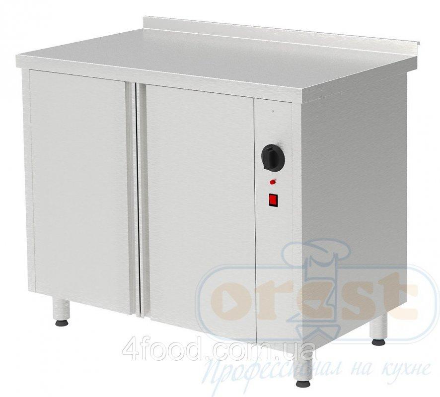 Стол для подогрева тарелок, двери купе Orest PTHC-2-0,7-1,1