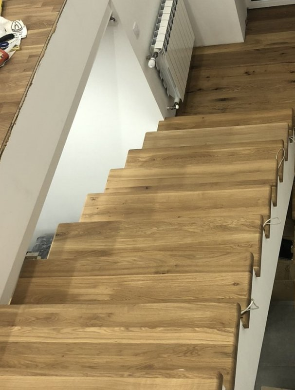 Buy Steps for stairs - material Oak