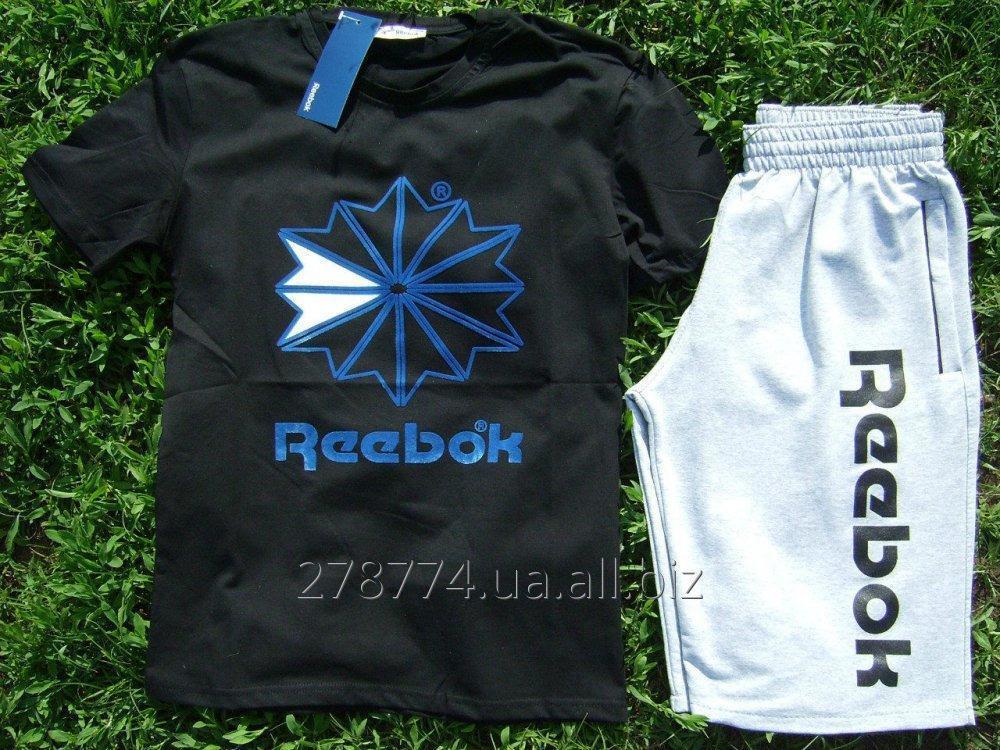 971f2e3aa340 Комплект мужской футболка шорты Reebok купить в Киеве