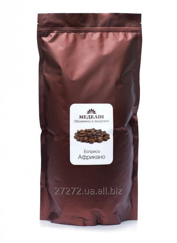 """Купить Кофе натуральный жаренный в зернах """"Эспрессо Африкано"""""""