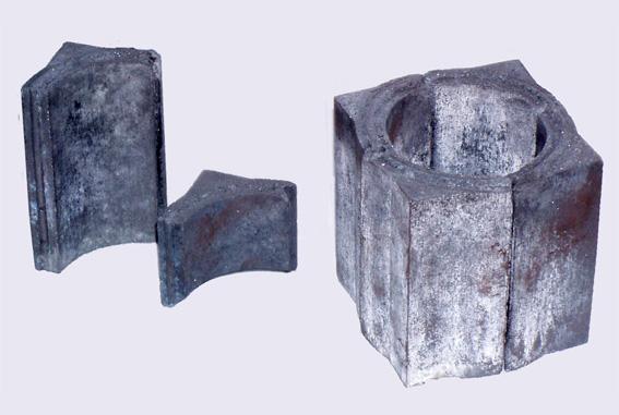 Изделия карбидкремниевые на алюмосиликатной связке