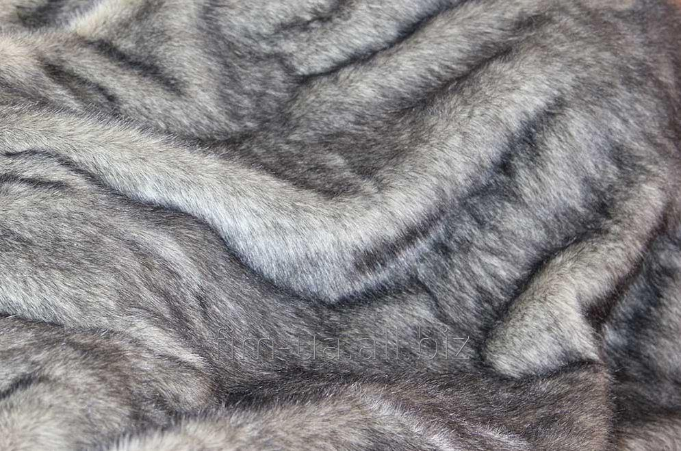 Fur fabric imitation of a skin 2