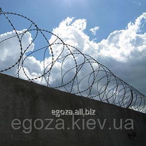 Заграждение колюче-режущее спиральное Егоза Кайман 450/5 ЗКР-С