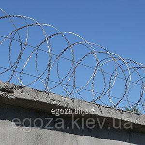 Barbed wire of Gyurz 400/3 spiral of SBB buy in Kiev