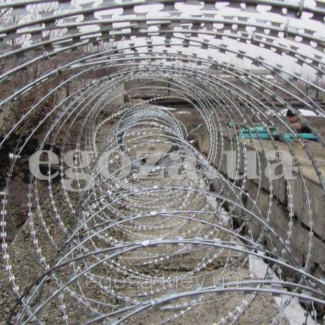 Купить Колючая проволока Егоза Кобра двойная спираль 600+1000