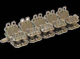Соединительный замок MLT Mini Record MR 3 для конвейерных лент толщиной от 4,8 до 6,4 мм