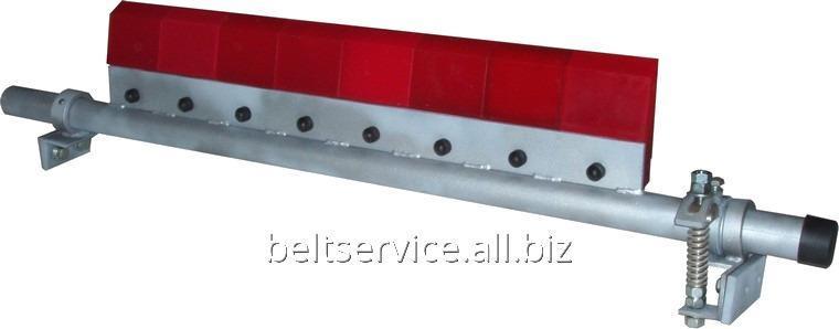 Барабанный нож-очиститель с полиуретановыми элементами и торсионным прижимом