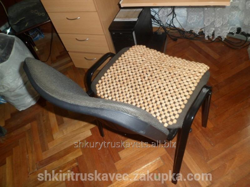 Массажер деревянный на стул массажеры роликовые игольчатые