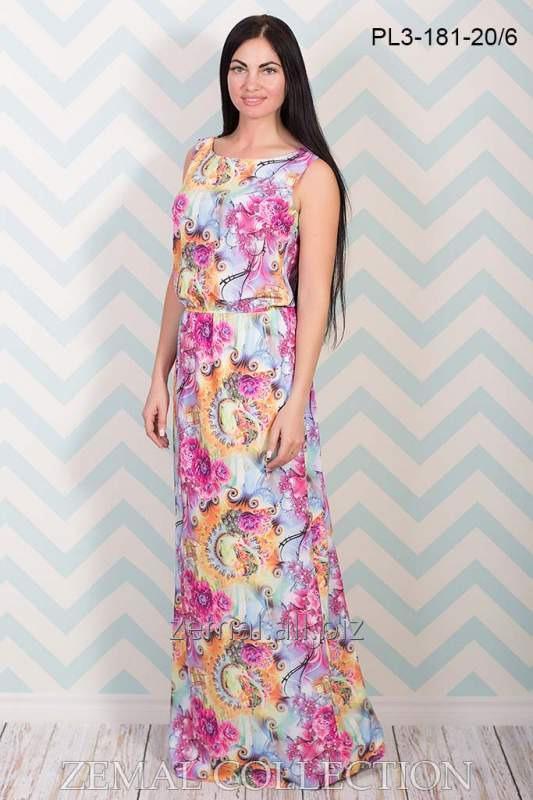 Платье PL3-181 вискозный шелк