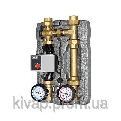 """Насосная группа для твердотопливных котлов и систем отопления BRV 20355 (R) на 2 линии, 1"""""""
