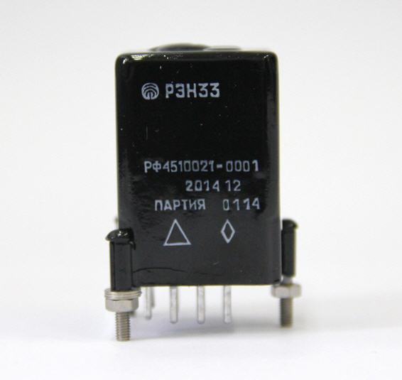 Купить Реле электромагнитное герметичное типа РЭН 33 66 7111 1600 РФ4.510.021 ТУ