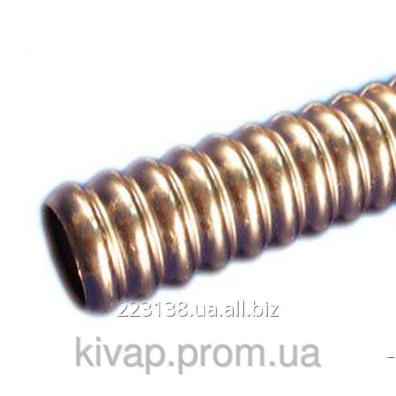 Труба GofraFlex гофрированная нержавеющая под фитинги 32А