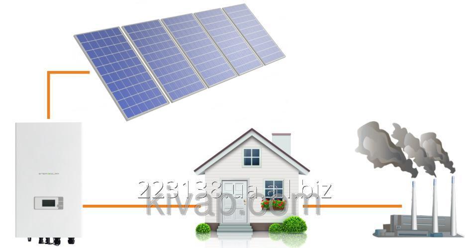 Solar power plant of 100 kW