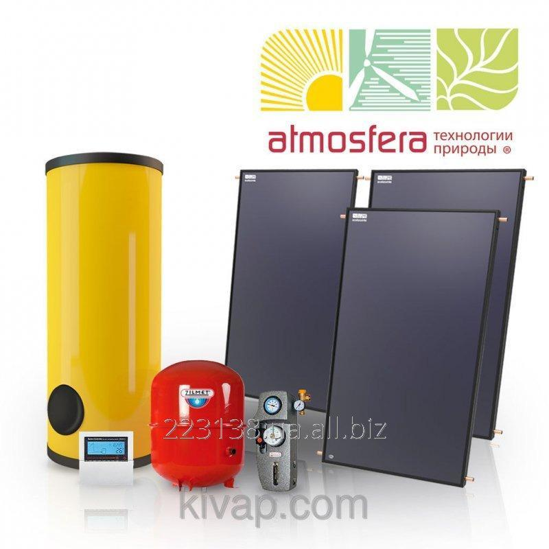 Buy The GVS heliosystem on flat collectors of 450 l of hot water in days on 8 people