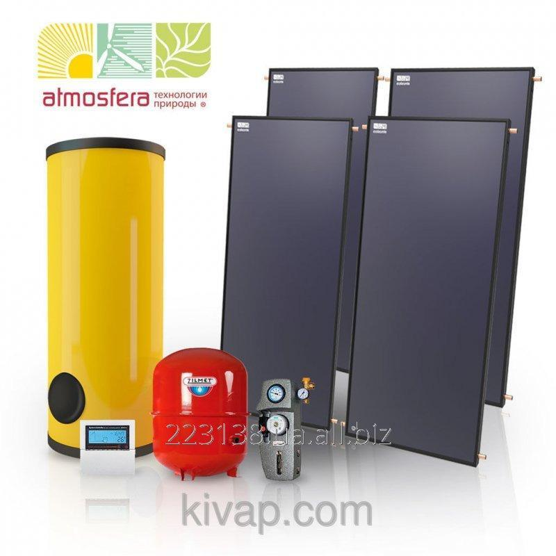 Buy The GVS heliosystem on flat collectors of 600 l of hot water in days on 10 people