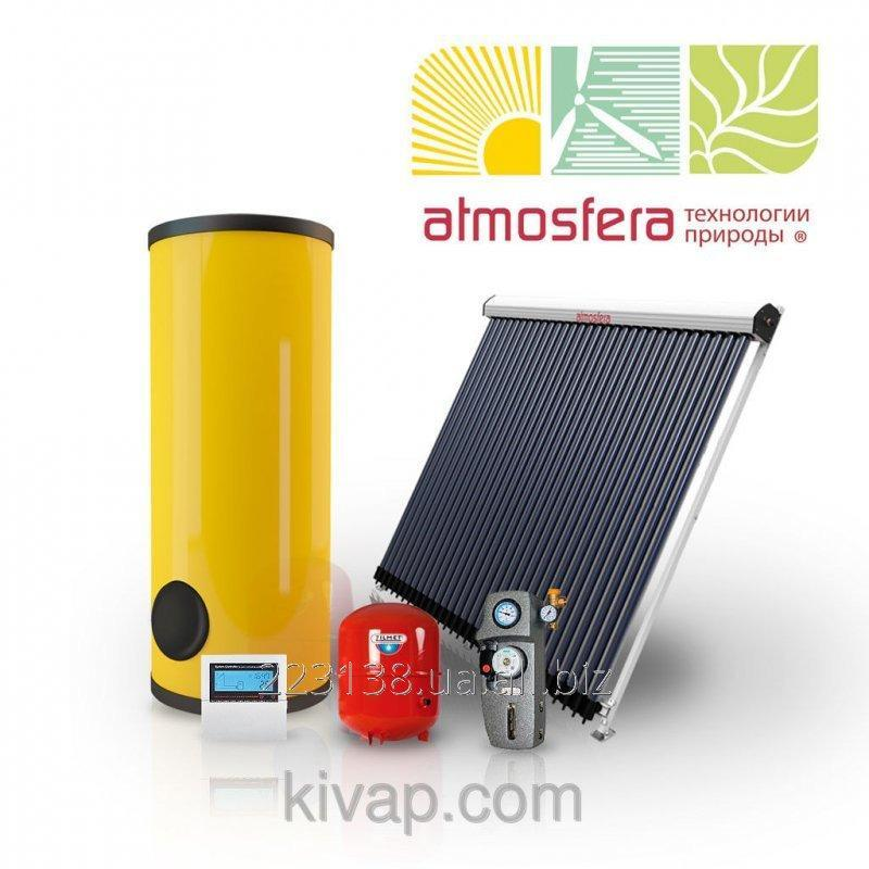 Buy The GVS heliothermal system on vacuum collectors of 200 l of hot water in days on 4 people